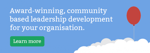 Award-winning, community based leadership development for your organisation.